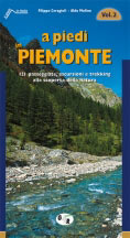 Libro montagna A piedi in Piemonte - Vol. 2