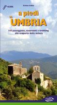 Libro montagna A piedi in Umbria