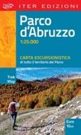 Libro montagna Parco d'Abruzzo - Carta escursionistica