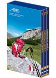 Libro montagna A piedi in Piemonte - Cofanetto 3 volumi