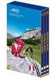 Libro montagna A piedi in Toscana - Cofanetto 3 volumi