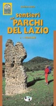 Libro montagna Sentieri nei Parchi del Lazio. - Vol. 2