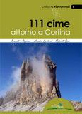 Libro montagna 111 Cime attorno a Cortina