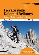 Libro montagna Ferrate nelle Dolomiti Bellunesi