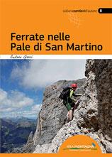 Libro montagna Ferrate nelle Pale di San Martino