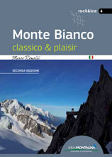 Libro montagna Monte Bianco classico & plaisir