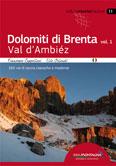 Libro montagna Dolomiti di Brenta vol. 1 - Val d Ambiéz