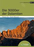 Libro montagna Die 3000er der Dolomiten