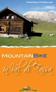 Libro montagna Mountain Bike in Val di Fassa
