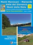 Libro montagna Carta Monti Marsicani Mainarde Meta