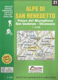 Libro montagna Carta Alpe di San Benedetto