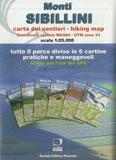 Libro montagna Carta Monti Sibillini