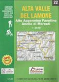 Libro montagna Carta Alta Valle del Lamone