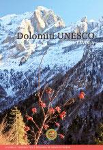 Libro montagna Dolomiti UNESCO a tavola