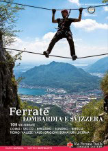 Libro montagna Ferrate in Lombardia e Svizzera
