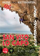 Libro montagna San Vito lo Capo - Climbing map