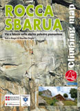 Libro montagna Rocca Sbarua Climbing Map