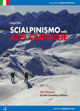 Libro montagna Scialpinismo nelle Alpi Carniche