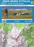 Libro montagna Carta Gran Sasso