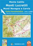 Libro montagna Carta Monte Catillo - Monti Lucretili - Monte Navegna - Cervia
