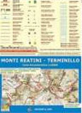 Libro montagna Carta Monti Reatini e Terminillo
