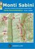 Libro montagna Carta Monti Sabini