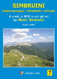 Libro montagna Carta Monti Simbruini e Ernici Occidentali