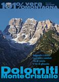 Libro montagna Dolomiti Monte Cristallo