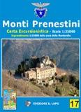 Libro montagna Carta Monti Prenestini
