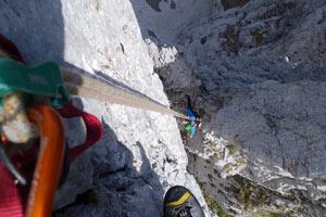Prealpi e Alpi Orobie - L'impressionante passaggio tra la Terza e la Quarta Matta