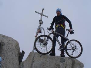 Monte Adamello - In vetta sulla cima del Monte Adamello