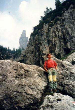Campanile Val Montanaia - Lungo il sentiero di accesso