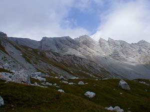 Cima di Costabella - Salendo verso la cresta
