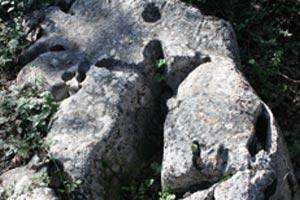 Monte Cavallo - L'orante rivolto verso ovest