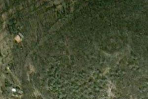 Monte Cavallo - Il cerchio di pietre da Google Earth