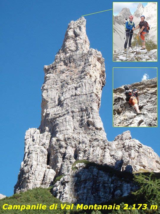 Scalata fotografica Campanile di Val Montanaia