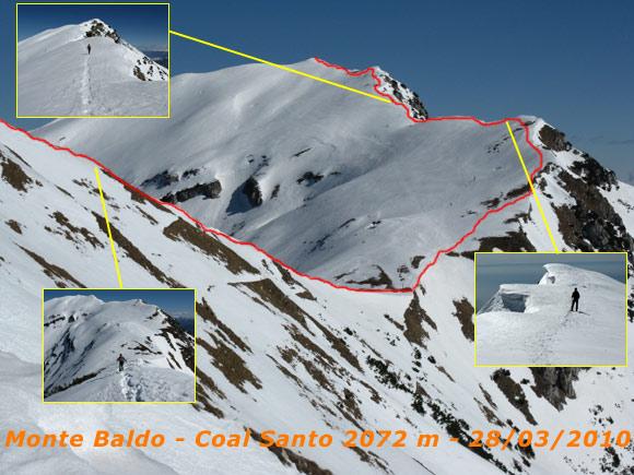 Scalata fotografica Monte Baldo - Coal Santo