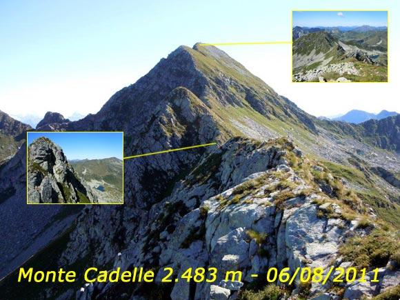 Scalata fotografica Monte Cadelle