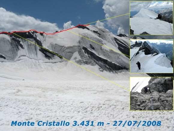 Scalata fotografica Monte Cristallo