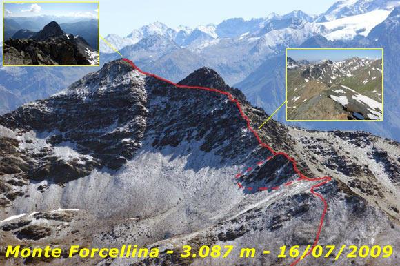 Scalata fotografica Monte Forcellina