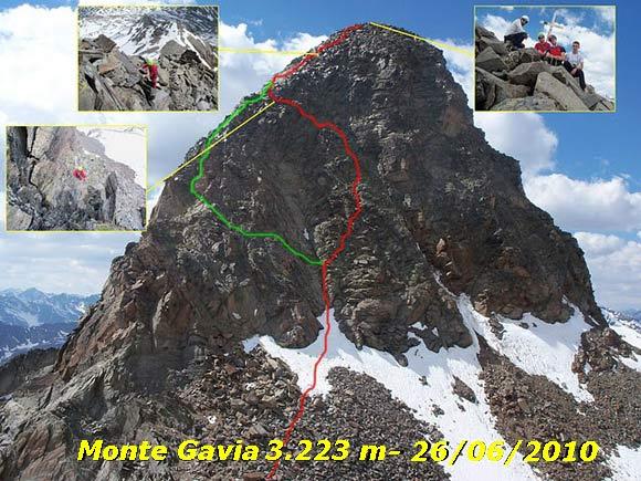 Scalata fotografica Monte Gavia