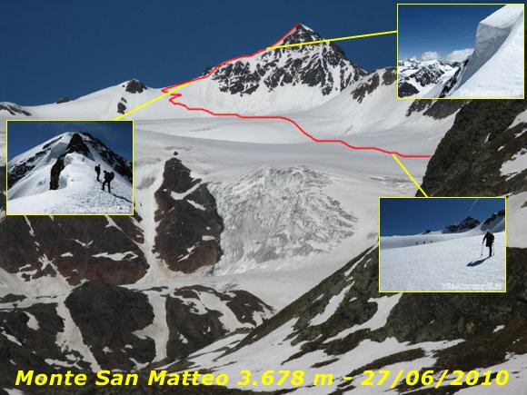 Scalata fotografica Monte San Matteo