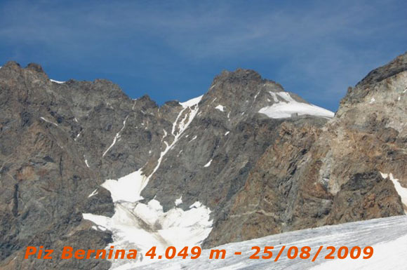 Scalata fotografica Pizzo Bernina