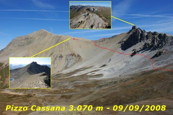Scalata fotografica Punta e Pizzo Cassana