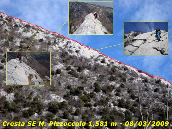 Scalata fotografica Monte Pizzoccolo - Cresta SE