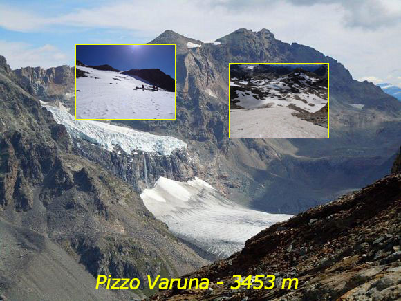 Scalata fotografica Pizzo Varuna