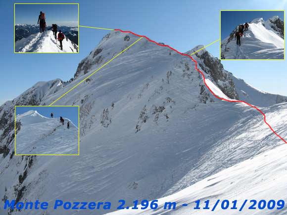 Scalata fotografica Monte Pozzera