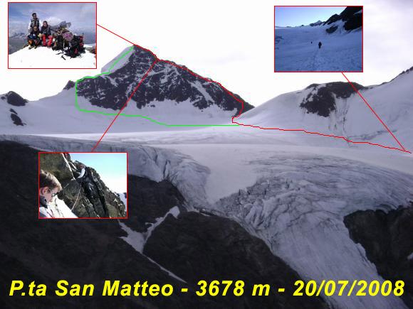 Scalata fotografica Punta San Matteo- Cresta Sud