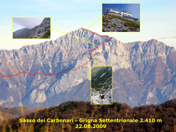 Scalata fotografica Sasso dei Carbonari - Grignone