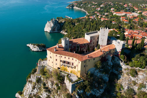 Alpe Adria Trail Duino Castle Trieste Marco Milani